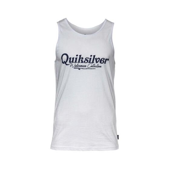 Quiksilver Waterman Men's Crawl Intentacles Tank, White, bcf_hi-res