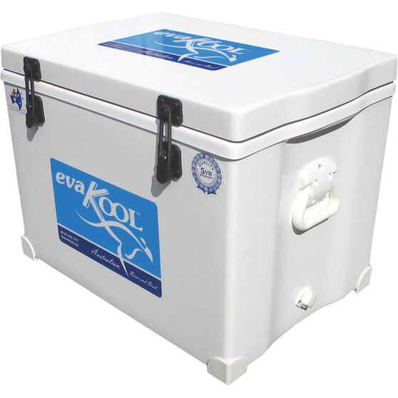 Evakool White Fibreglass Icebox 65L, , bcf_hi-res