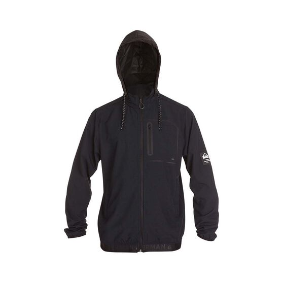 Quiksilver Waterman Men's Paddle 4 Jacket, Black, bcf_hi-res
