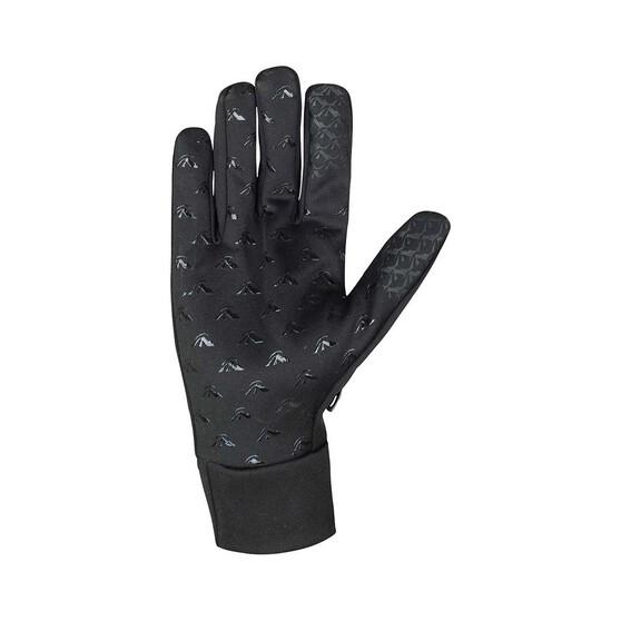 Macpac Unisex Stretch Gloves, Black, bcf_hi-res