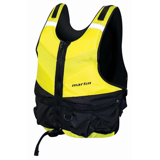 Marlin Australia Adult Kayak PFD 50 XS / S, Yellow, bcf_hi-res