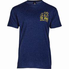 Tide Apparel Men's Hike Tee Blue S, Blue, bcf_hi-res
