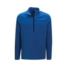 Macpac Men's Tui Fleece Pullover Classic Blue S, Classic Blue, bcf_hi-res