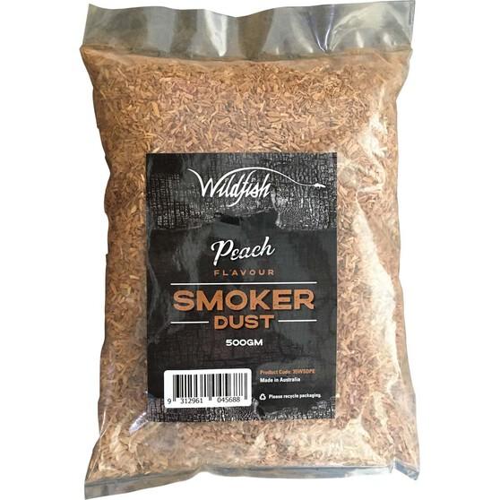 Wildfish Peach Smoker Dust 500g, , bcf_hi-res