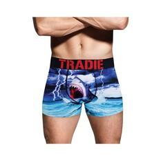 Tradie Men's Shark Bait Trunk, Print, bcf_hi-res