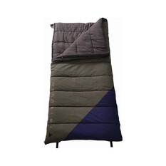 Wanderer Grand Macquarie Cotton Camper +3.2C Sleeping Bag, , bcf_hi-res
