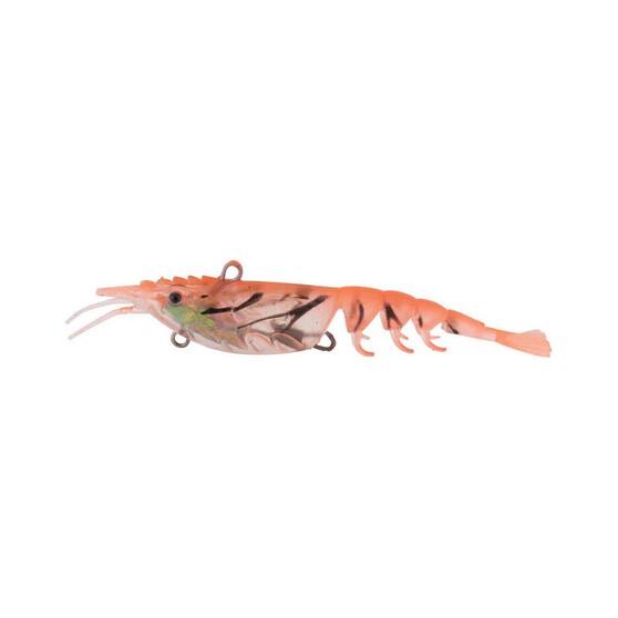 Berkley Shimma Shrimp Soft Vibe Lure 100mm Peach Shrimp, Peach Shrimp, bcf_hi-res