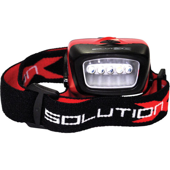 Solution X 5LED Headlamp, , bcf_hi-res