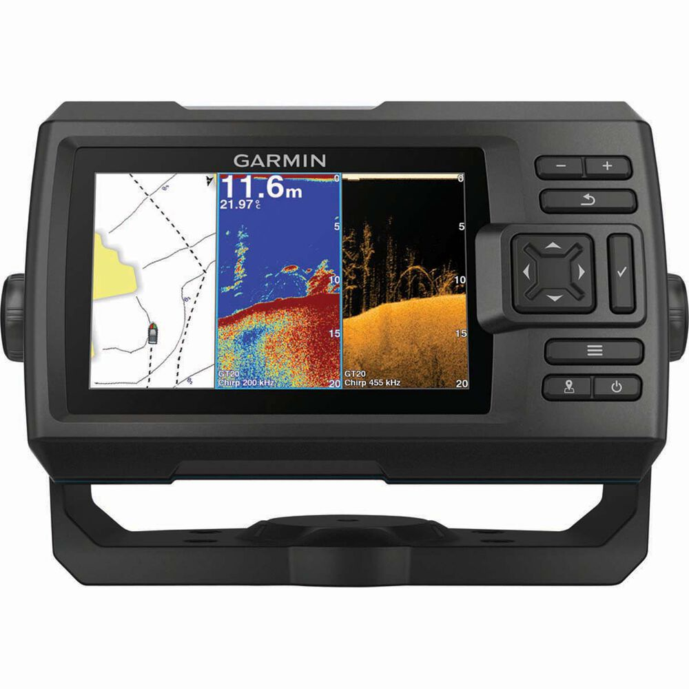 garmin striker plus 5cv fish finder including transducer