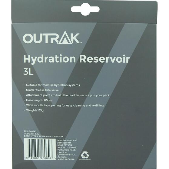 OUTRAK Reservoir Hydration Pack 3L, , bcf_hi-res