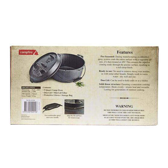 Pioneer Premium Camp Oven 9 Quart, , bcf_hi-res