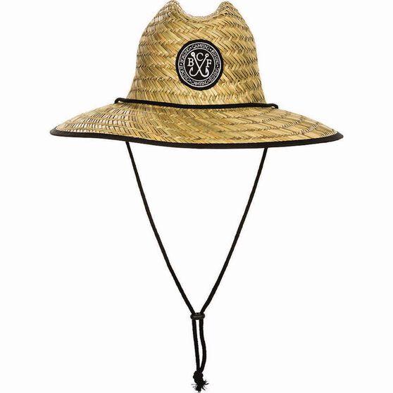 BCF Threads Men's Classic Straw Hat, , bcf_hi-res