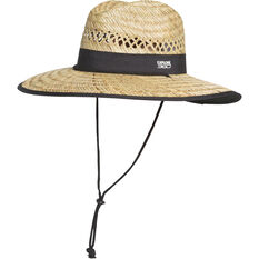 Explore 360 Unisex Logo Straw Hat Natural 56cm, Natural, bcf_hi-res