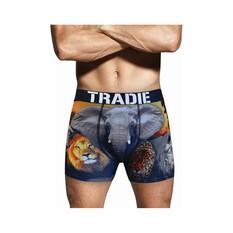 Tradie Men's Exotic Trunks, Print, bcf_hi-res