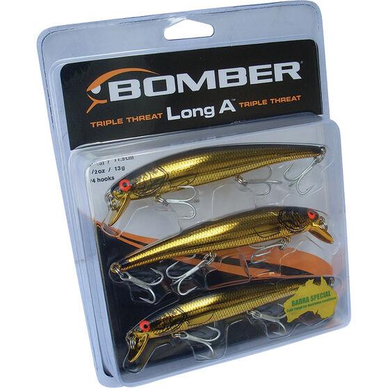 Bomber Barra Hard Body Lure Triple Pack 3, , bcf_hi-res