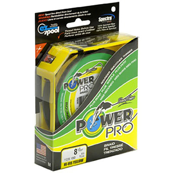 Power Pro Braid Line 300yds, Yellow, bcf_hi-res