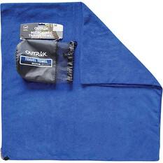 Outrak Microfibre Towel - Medium Navy, Navy, bcf_hi-res