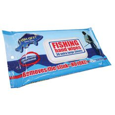 Fish Off Hand Wipes 30 Pack, , bcf_hi-res