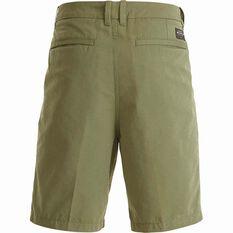 Quiksilver Men's Maldive Chino Shorts Deep Lichen Green 32 Men's, Deep Lichen Green, bcf_hi-res