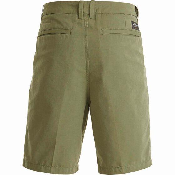 Quiksilver Men's Maldive Chino Shorts, Deep Lichen Green, bcf_hi-res