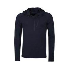Macpac Men's Prothermal Hooded Pullover Black S, Black, bcf_hi-res