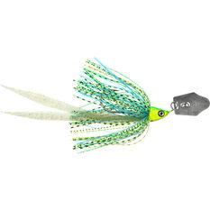 Savage Crazy Blade Spinner Bait Lure 17.5cm Chartreuse / Black, Chartreuse / Black, bcf_hi-res