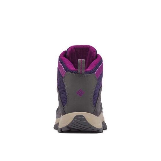 Columbia Women's Crestwood Mid Hiker Boots, Deep Purple / Wild Iris, bcf_hi-res