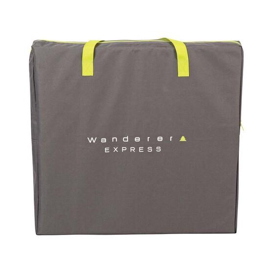 Wanderer Express Instant Set Up Wardrobe 4 Shelf, , bcf_hi-res