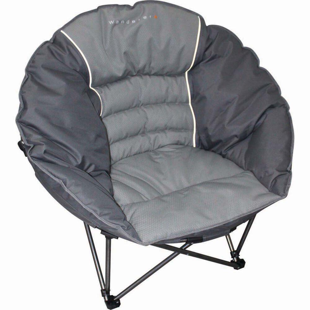 Wanderer Premium Moon Quad Fold Camp Chair Bcf