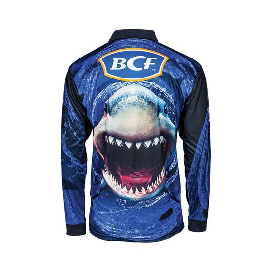 BCF Whirlpool Men's Sublimated Polo, Blue, bcf_hi-res