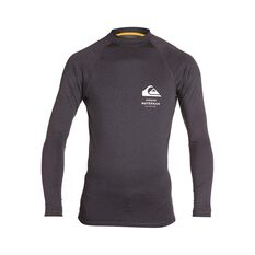 Quiksilver Waterman Men's Sea Dog Long Sleeve Rashies Tarmac Heather S, Tarmac Heather, bcf_hi-res
