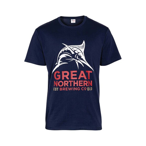 The Great Northern Brewing Co. Men's Short Sleeve Tee, Navy, bcf_hi-res