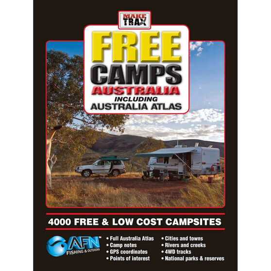 AFN Make Trax Free Camps with Australian Atlas, , bcf_hi-res
