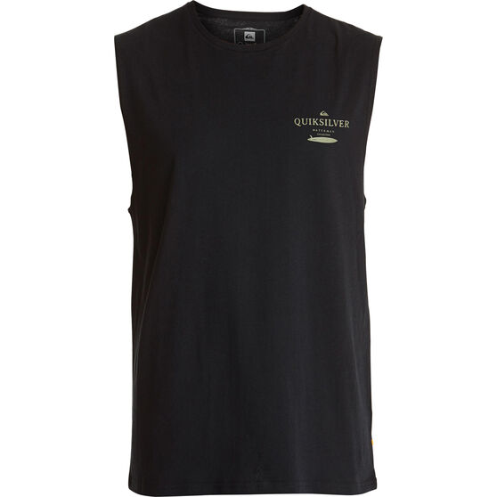 Quiksilver Men's Wasure Mono Muscle Tee Black 2XL, Black, bcf_hi-res