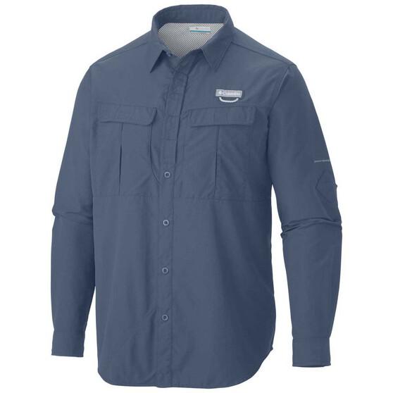 Columbia Men's Cascade Explorer Long Sleeve Shirt Mountain S, Mountain, bcf_hi-res