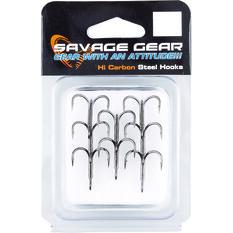 Savage Black Nickel 4X Treble Hooks, , bcf_hi-res