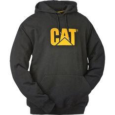 CAT Men's Trademark Hoodie Black S Men's, Black, bcf_hi-res