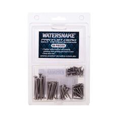Watersnake Pan Flat Head Screw Kit 68Pcs, , bcf_hi-res