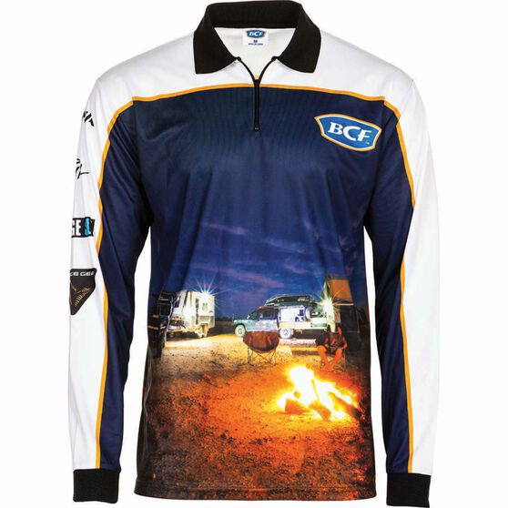 BCF Men's Camp Sublimated Polo, , bcf_hi-res