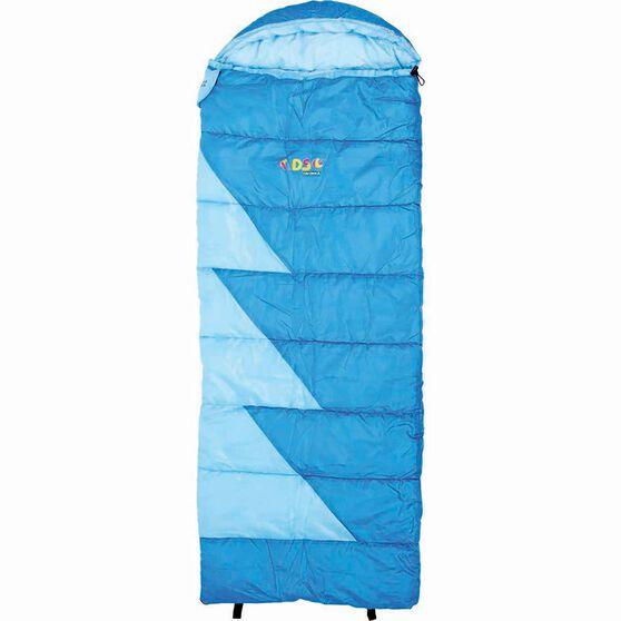 Wanderer Zip 100 Hooded Sleeping Bag, , bcf_hi-res