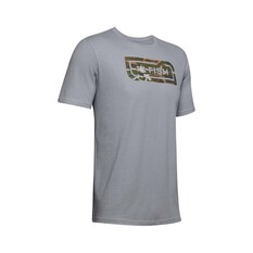 Under Armour Men's Fish Inline Camo Tee, Grey / Camo Fill, bcf_hi-res