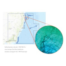 C-Map® Reveal: Malcotta to Brisbane Chart, , bcf_hi-res