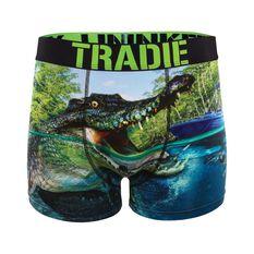 Tradie Men's Come at me Croc Trunks, , bcf_hi-res