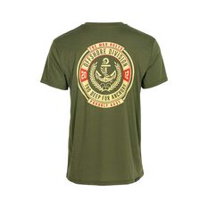 The Mad Hueys Men's Too Deep UV Short Sleeve Tee Khaki S, Khaki, bcf_hi-res