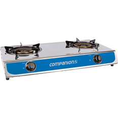 Companion LPG Portable Stove 2 Burner, , bcf_hi-res