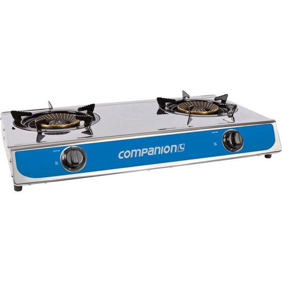 Companion LPG Portable Stove 2 Burner, , bcf_hi-res