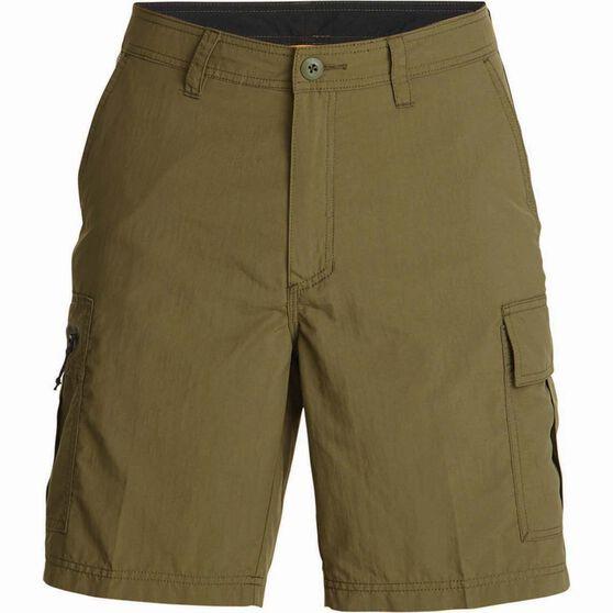 Quiksilver Men's Skipper Walk Shorts, Ivy Green, bcf_hi-res