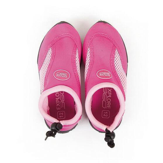 BCF Kids' Beachcomber II Aqua Shoes Pink K13, Pink, bcf_hi-res