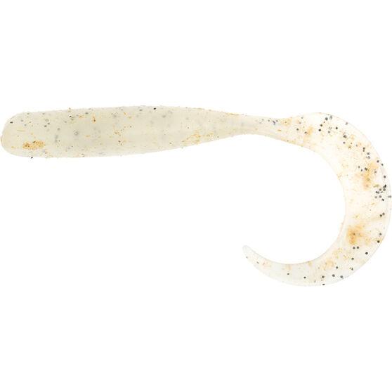 Savage Curltail Soft Plastic Lure 14cm Glow, Glow, bcf_hi-res