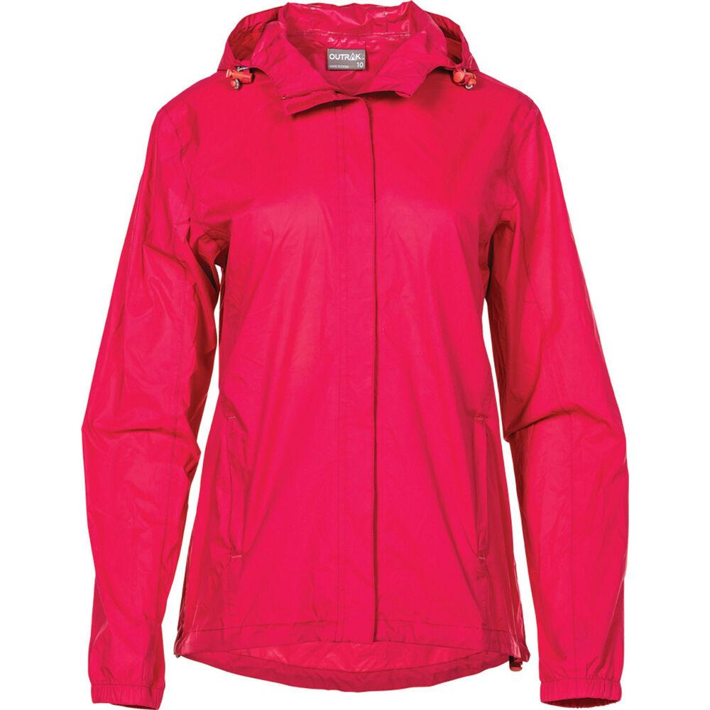 f2a84df35 OUTRAK Women s Packaway Rain Jacket Pink 12